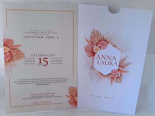 Convite 15 Anos Rosê