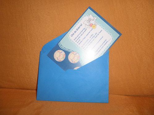 Convite de Chá de Bebê 21058E
