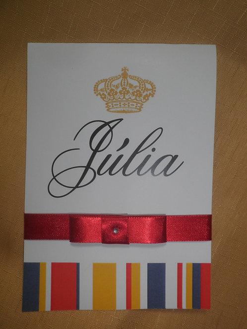 Convite 15 anos Julia
