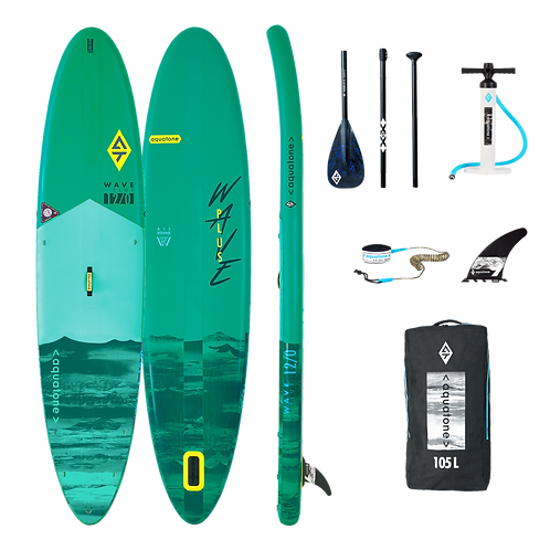 Aquatone WAVE Allround Stand Up Paddle Board SUP 12.0 iSUP inkl. Padde