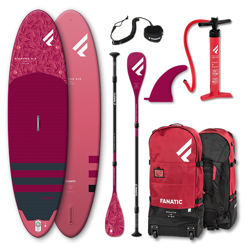 Fanatic Diamond Air Stand Up Paddle Board SUP 10.4 iSUP inkl. Carbon Paddel