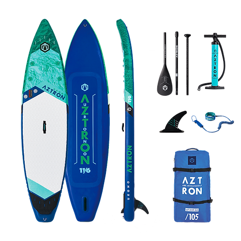 Aztron Urono Stand Up Paddle Board Touring SUP 11.6 iSUP inkl. Paddel
