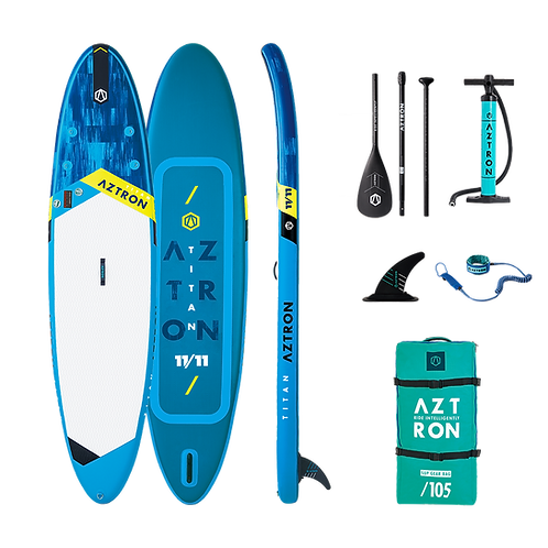 Aztron Titan Stand Up Paddle Board SUP 11.11  iSUP inkl. Paddel