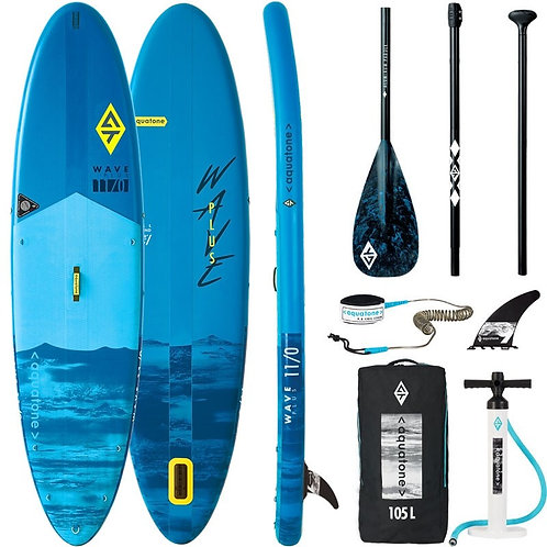 Aquatone WAVE Allround Stand Up Paddle Board SUP 11.0 iSUP inkl. Padde