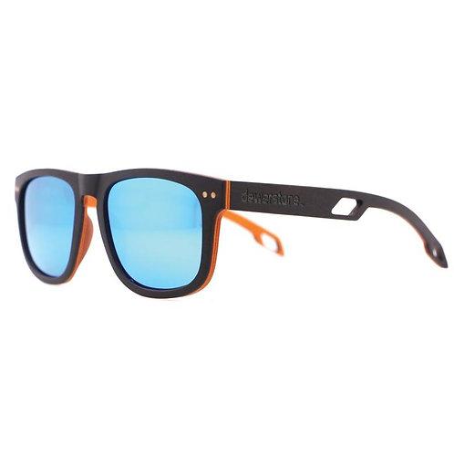 Sonnenbrillen Holz Tambora MK2 Grau / Orange - polarisiert Seitenansicht