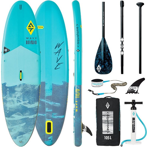 Aquatone WAVE Allround Stand Up Paddle Board SUP 10.0 iSUP inkl. Paddel