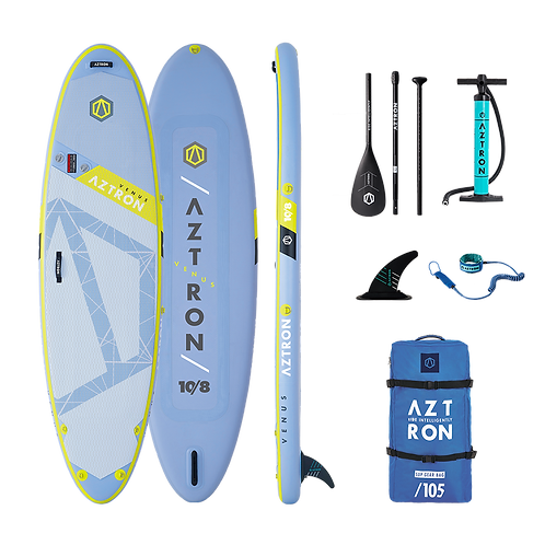 Aztron Venus Yoga Fit Stand Up Paddle Board SUP 10.0 iSUP inkl. Paddel