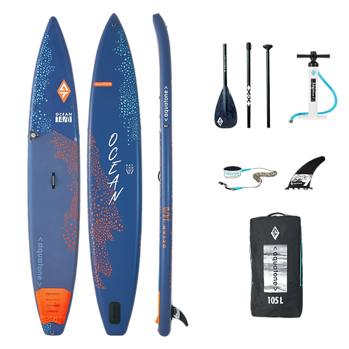 Aquatone OCEAN Touring Race Stand Up Paddle Board SUP 14.0 iSUP
