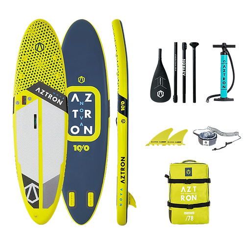 Aztron Nova Compact Stand Up Paddle Board SUP 10.0 iSUP inkl. Paddel