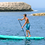 Thumbnail: Aquatone WAVE Allround Stand Up Paddle Board SUP 12.0 iSUP inkl. Padde