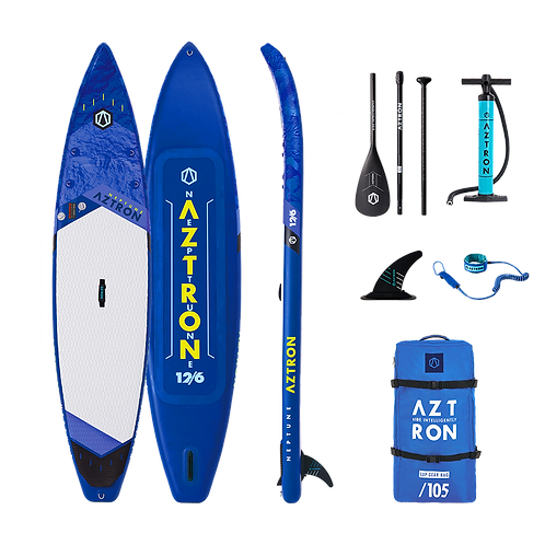Aztron Neptune Stand Up Paddle Board Touring SUP 12.6 iSUP inkl. Paddel