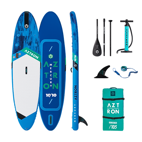 Aztron Mercury Stand Up Paddle Board SUP 10.10  iSUP inkl. Paddel