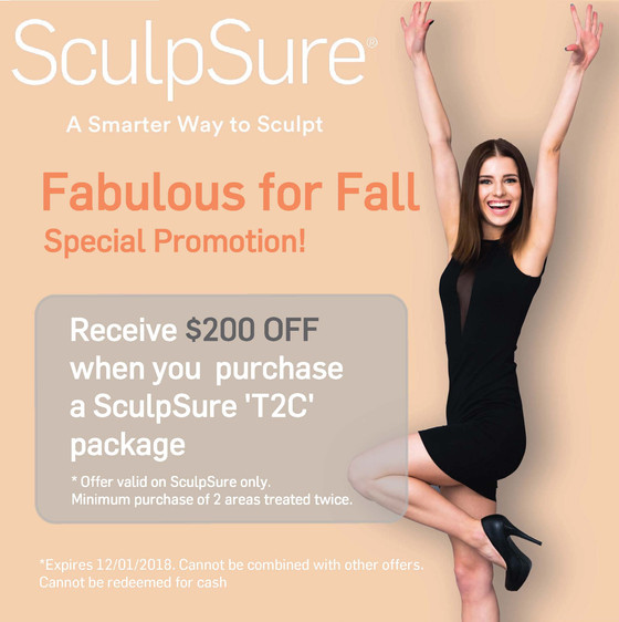 SculpSure  Special Promotion