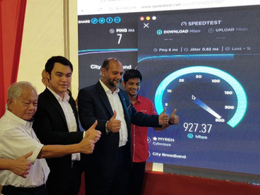 NFCP Pilot Project by TNB in Jasin, Melaka the Key to Greater High Speed Broadband Internet Coverage