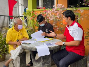Banjir di Ayer Keroh   爱极乐区水灾   9 Julai 2021  🚩Solidariti Kempen Bendera Merah 🚩