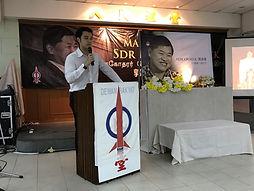 Kerk Chee Yee speaks for DAP