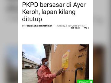 Kluster Jalan Seri Raya       8 Julai 2021       PKPD Bersasar?