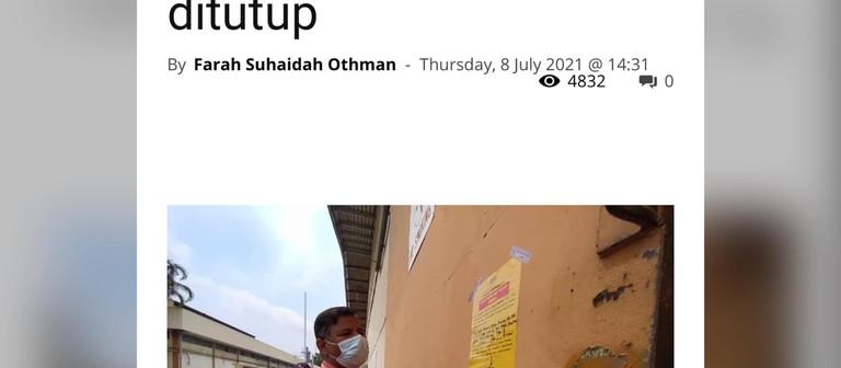 Kluster Jalan Seri Raya   |   8 Julai 2021   |   PKPD Bersasar?