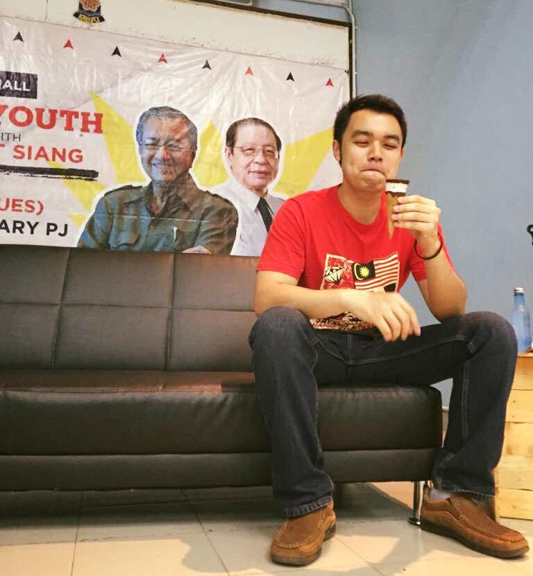 我希望更多年轻人能参与政治,为我国创下新天地