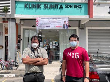 Program Subsidi Ujian Saringan Komuniti Bersasar Ayer Keroh   爱极乐社区针对性筛检补贴计划   Keputusan