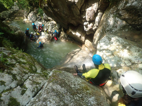 Les recommandations COVID-19 pour le canyoning
