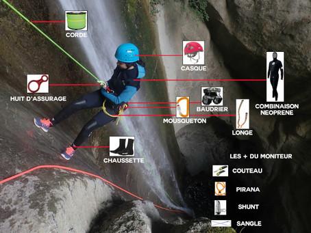 Matériel de canyoning | Comment bien choisir ?