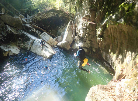 Organisez votre sortie de canyoning à Grenoble