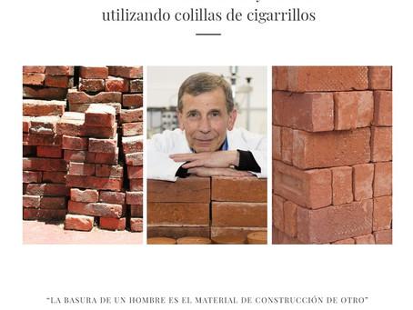 Un ladrillo más eficaz y liviano utilizando colillas de cigarrillos