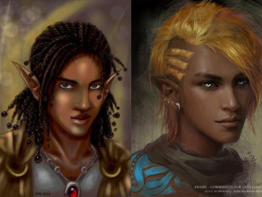 Zestari The Elf: Bringing her to life!! (pt. 2)