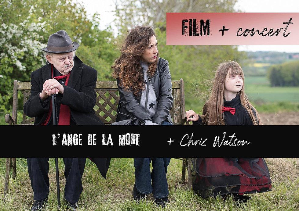 SORTIE OFFICIELLE film Ange + concert Ch