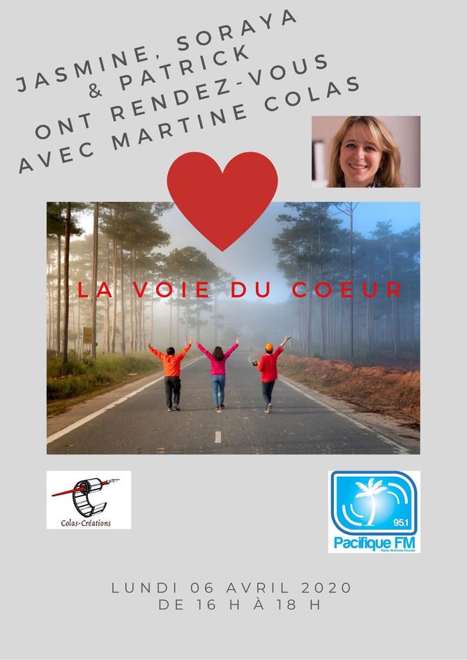 Émission spéciale Martine Colas lundi 6 avril 2020                                      Pacifique FM