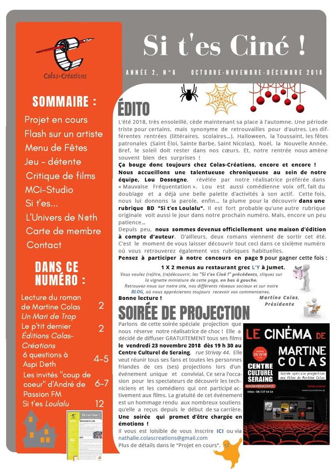 Si t'es Ciné ! 6