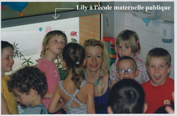 Lily à l'école maternelle