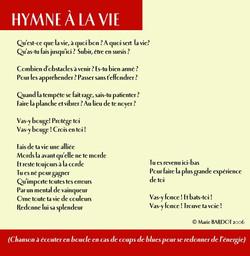 06 Hymne a la vie