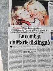 Lorsque Marie Bardot reçut la Médaille du Bien