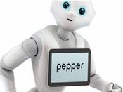 Pepper, le robot dévoilé au salon Innorobo, est peut-être le futur enseignant des enfants autistes