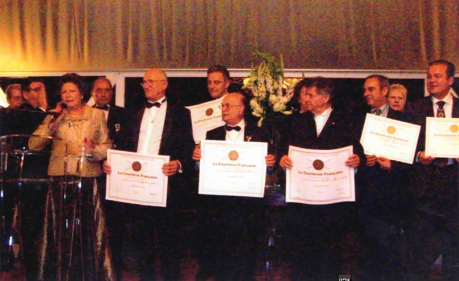 Médailles de La Courtoisie Française