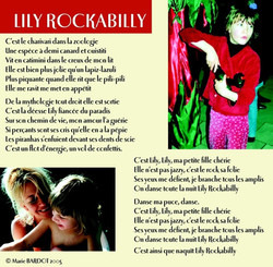 12 Lily rockabilly
