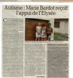 Marie Bardot - Gala autisme