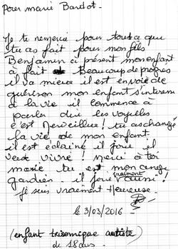 Temoignage guérison - Marie Bardot
