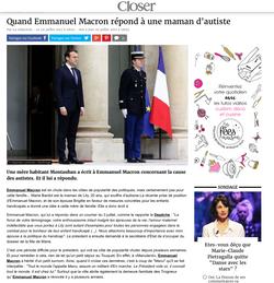 Marie Bardot - Emmanuel Macron