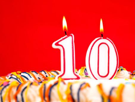 10 ans, Joyeux Anniversaire