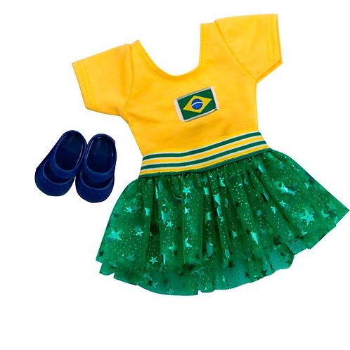 Torcedora do Brasil Reborn e Adora Doll