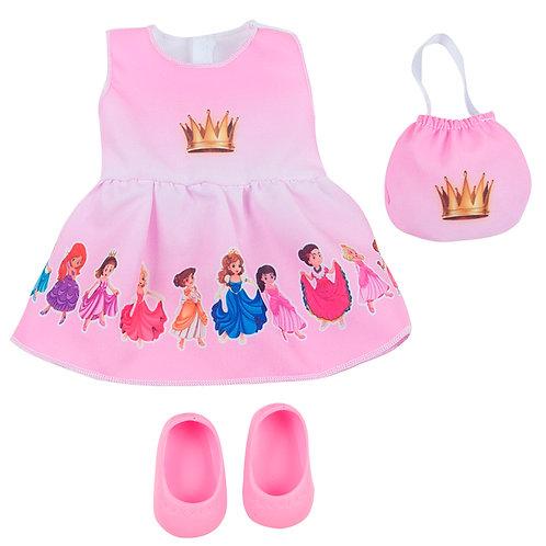 Kit Vestido Princesas