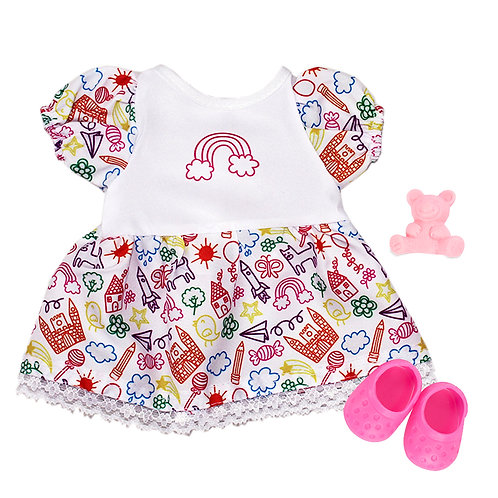 Kit Vestido Colors Iris