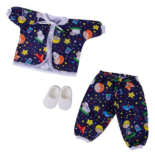 Kit Pijama Pequeno Príncipe American