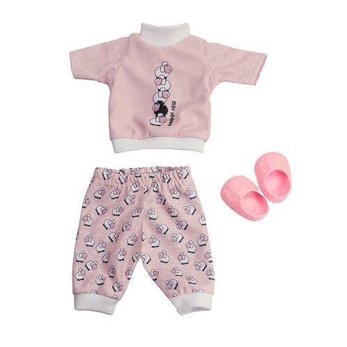 Kit Pijama Ovelhinha Rosa