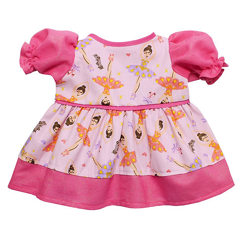 Vestido Bailarina Brilhante