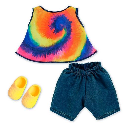 Kit Conjunto Tie Dye