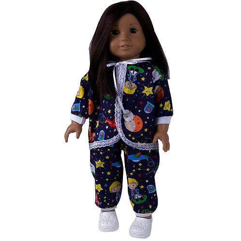 Kit American Pijama Pequeno Príncipe